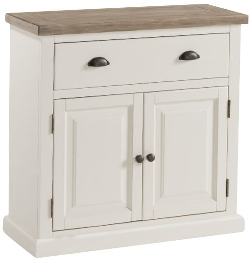 Santorini Painted 2 Door 1 Drawer Compact Sideboard