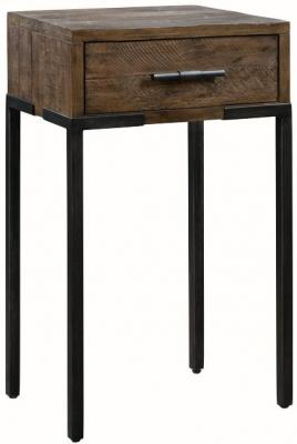 Seville Dark Pine Small Console Table