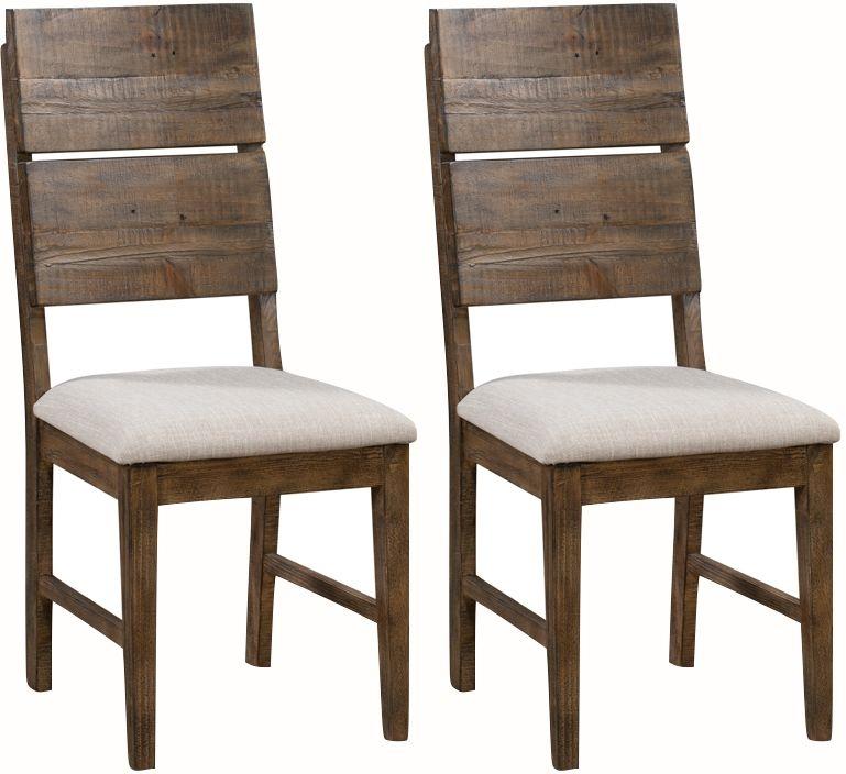 Seville Dark Pine Dining Chair (Pair)