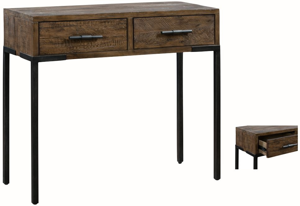 Seville Dark Pine Medium Console Table