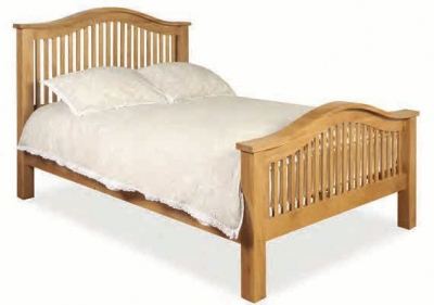 Somerset Oak Tullamore Bed