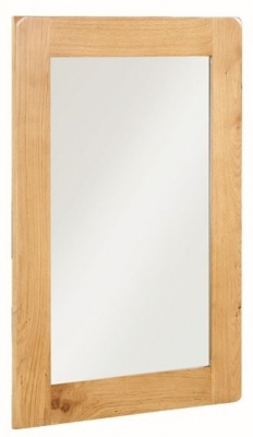 Somerset Oak Wall Mirror