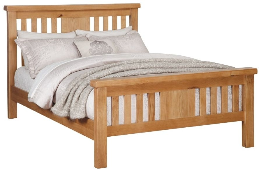 Somerset Oak Bed