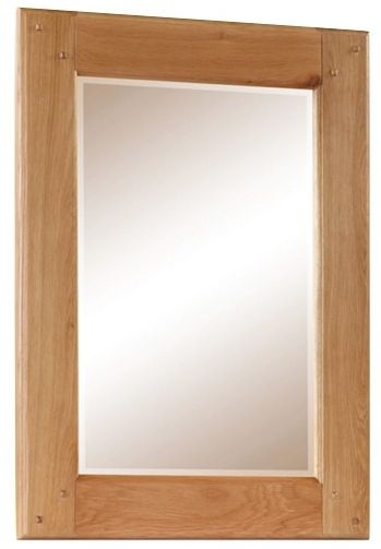 Somerset Oak Bevelled Mirror