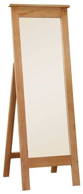 Somerset Oak Cheval Mirror