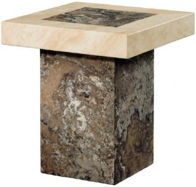 Sorrento Marble End Table - Rectangular