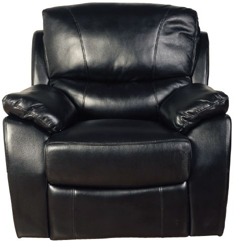 Swindon Black LA Recliner Armchair