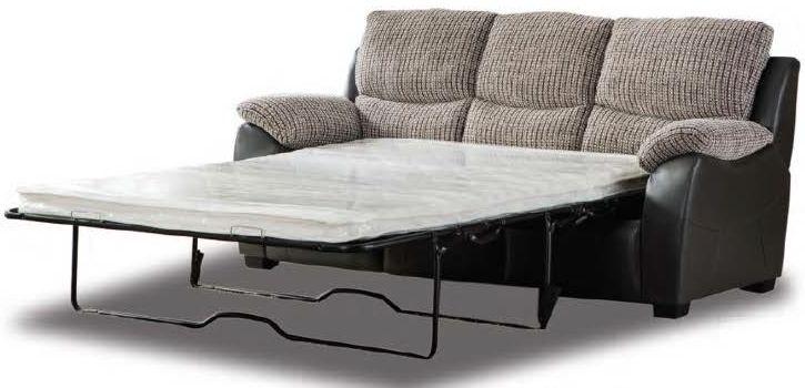 Swindon Fusion Grey Sofa Bed