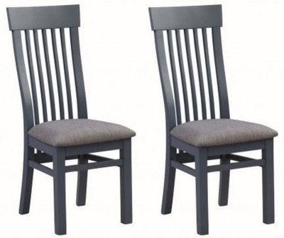 Treviso Midnight Blue Dining Chair (Pair)