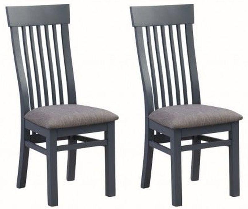 Treviso Midnight Blue Dining Chair (Pair)