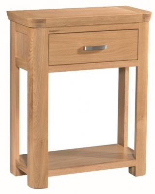 Treviso Oak Console Table - Small
