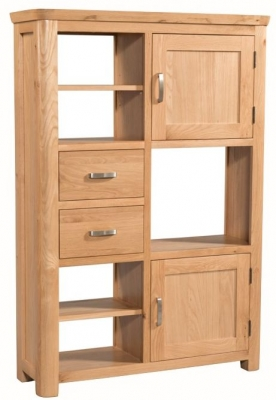 Treviso Oak Display Unit  - High