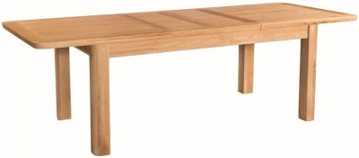 Treviso Oak Large Extending Dining Table