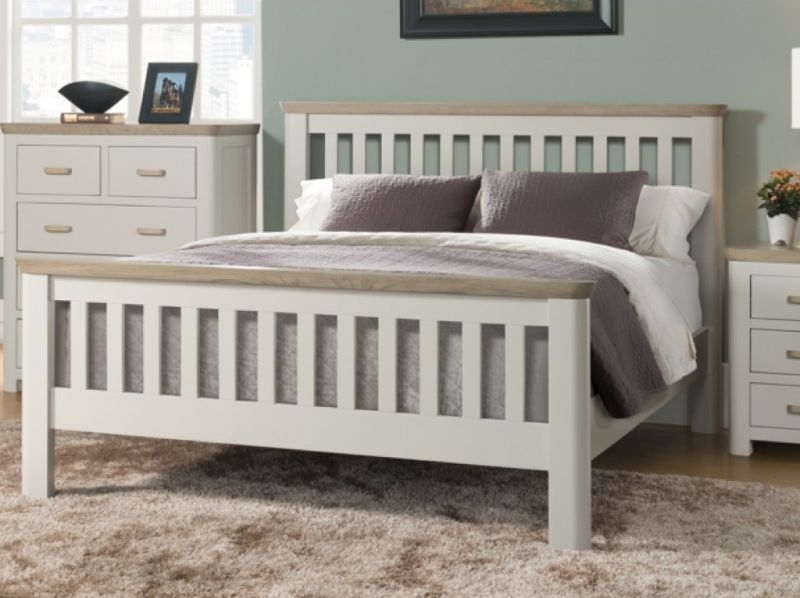 Treviso Painted High Foot End Bed