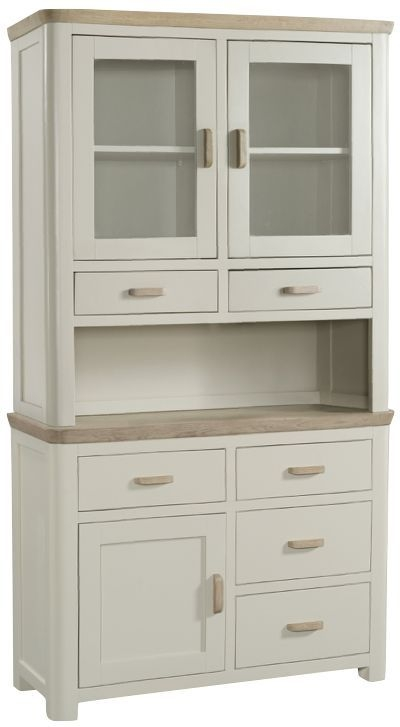 Treviso Buffet Hutch - Oak and Painted