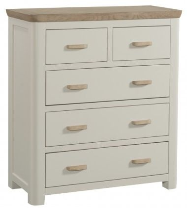 Treviso Painted Chest of Drawer - 2 Over 3 Drawer
