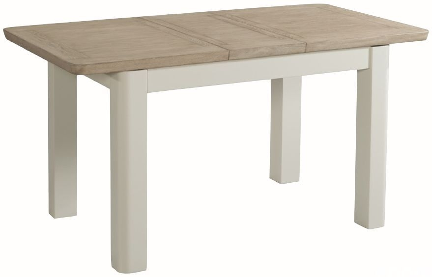 Treviso Extending Dining Table - Oak and Painted