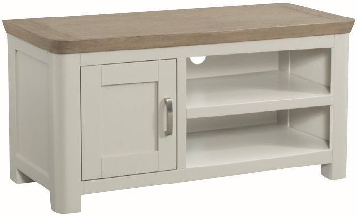 Treviso Standard TV Unit - Oak and Painted