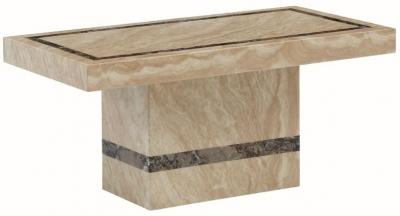 Vittoria Marble Coffee Table - Rectangular