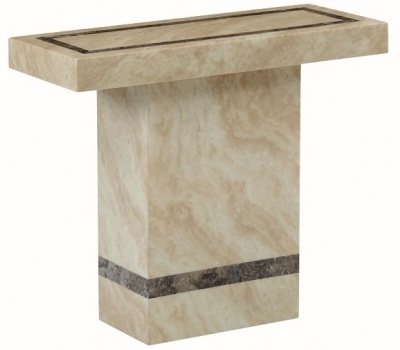 Vittoria Marble Console Table - Rectangular
