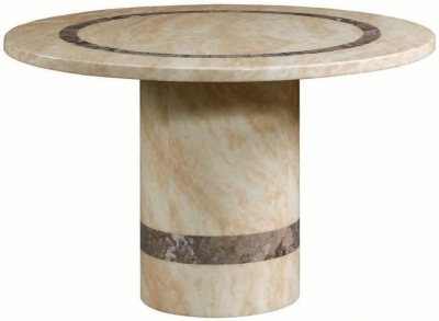 Vittoria Marble Dining Table - 4ft Round