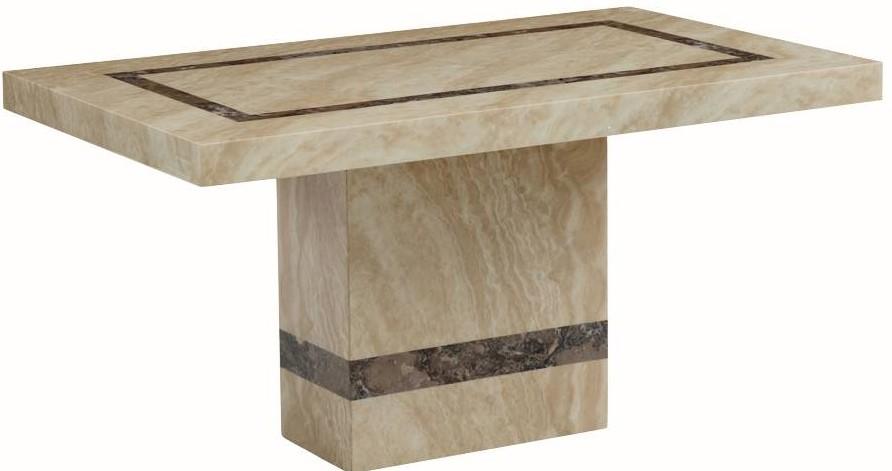 Vittoria Marble Rectangular Dining Table - 150cm