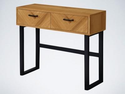 Panama Oak Large Console Table