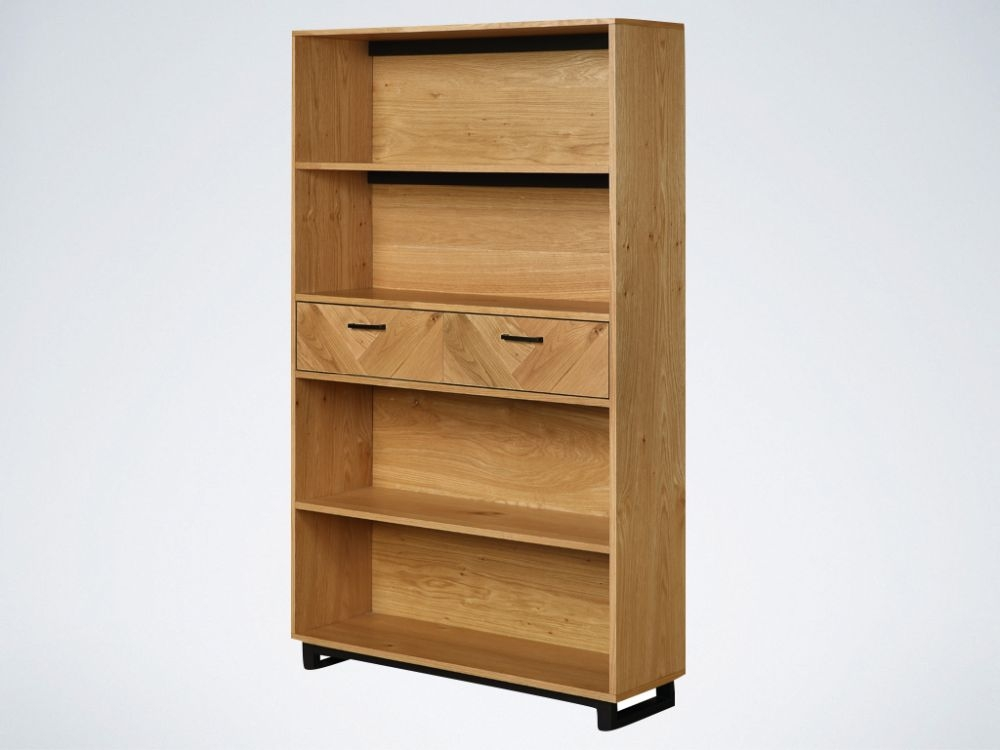 Panama Oak Large Bookcase