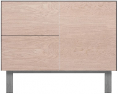 Cubo Grey Sideboard 1 Door and 2 Drawers
