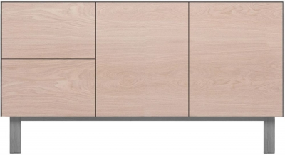 Cubo Grey Sideboard 2 Doors and 2 Drawers