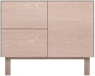 Cubo Oak Sideboard 1 Door and 2 Drawers