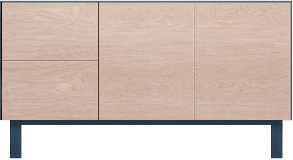 Cubo Blue Sideboard 2 Doors and 2 Drawers