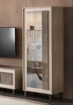 Arredoclassic Ambra Italian 1 Right Door Display Cabinet