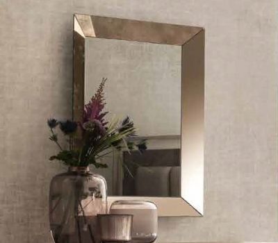 Arredoclassic Ambra Italian Bedroom Mirror - 112cm x 87cm