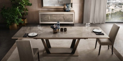 Arredoclassic Ambra Italian Extending Dining Table
