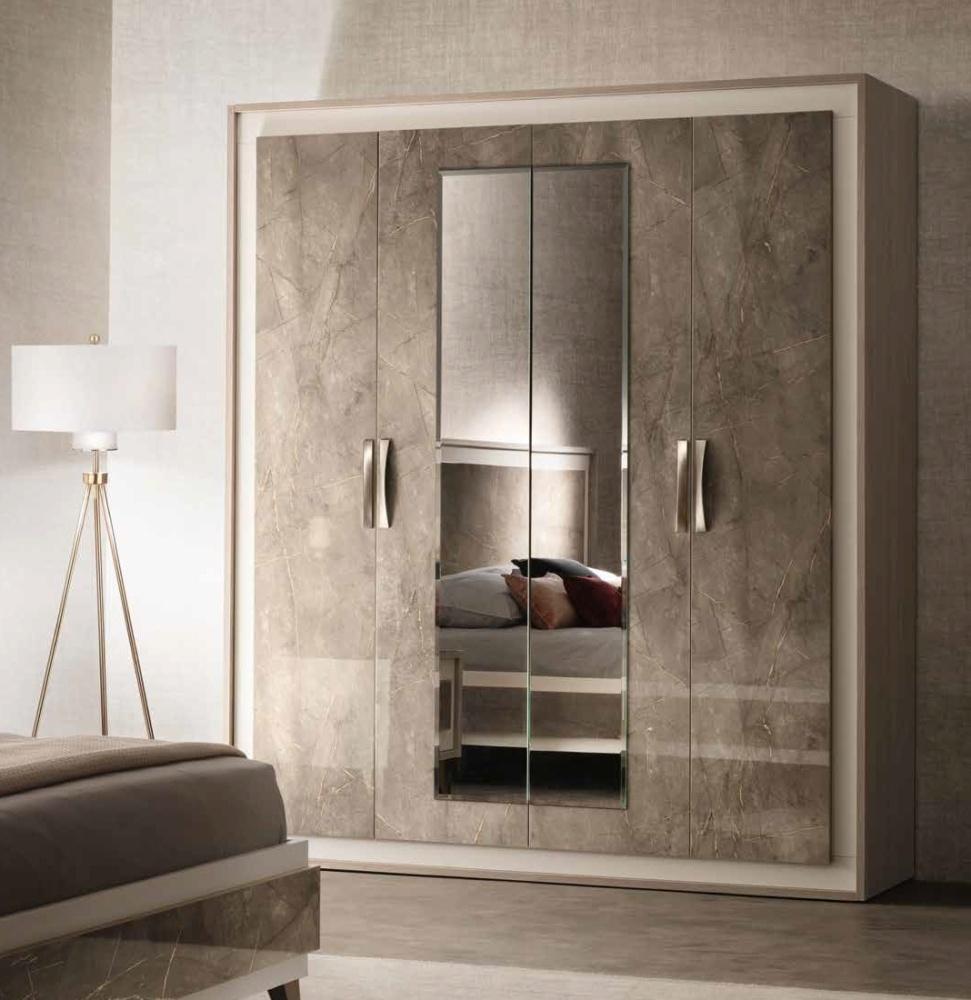 Arredoclassic Ambra Italian 4 Door Wardrobe