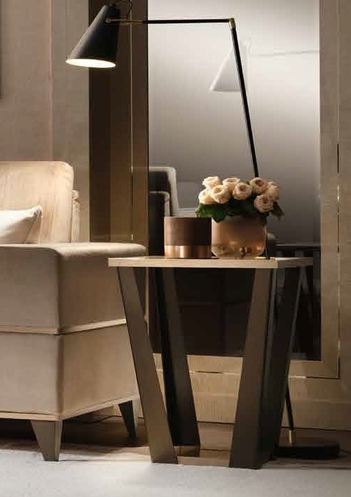 Arredoclassic Ambra Italian Large Lamp Table