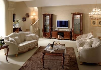 Arredoclassic Donatello Italian 3+1+1 Seater Fabric Sofa Set