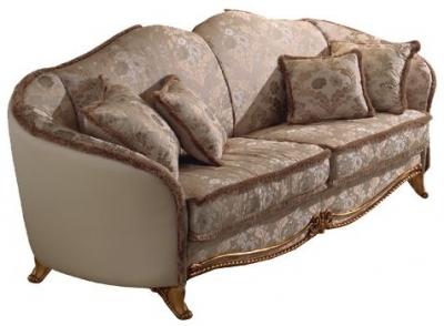 Arredoclassic Donatello Italian 3 Seater Fabric Sofa