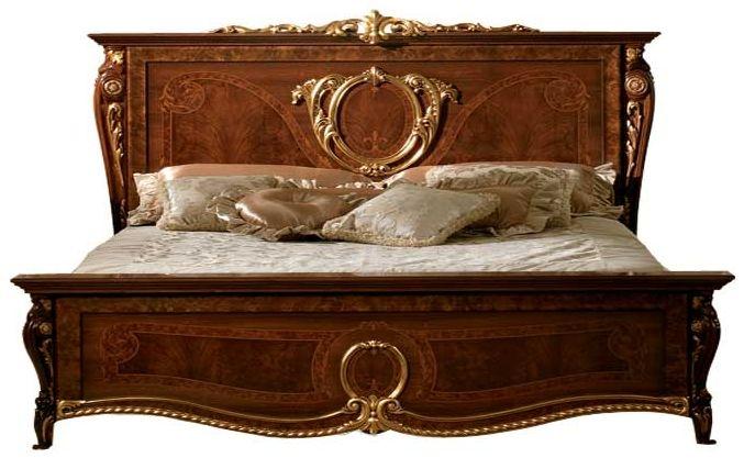 Arredoclassic Donatello Brown Italian Bed