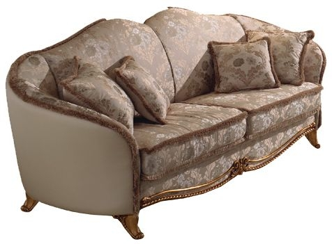 Arredoclassic Donatello Italian 3 Seater Fabric Sofa
