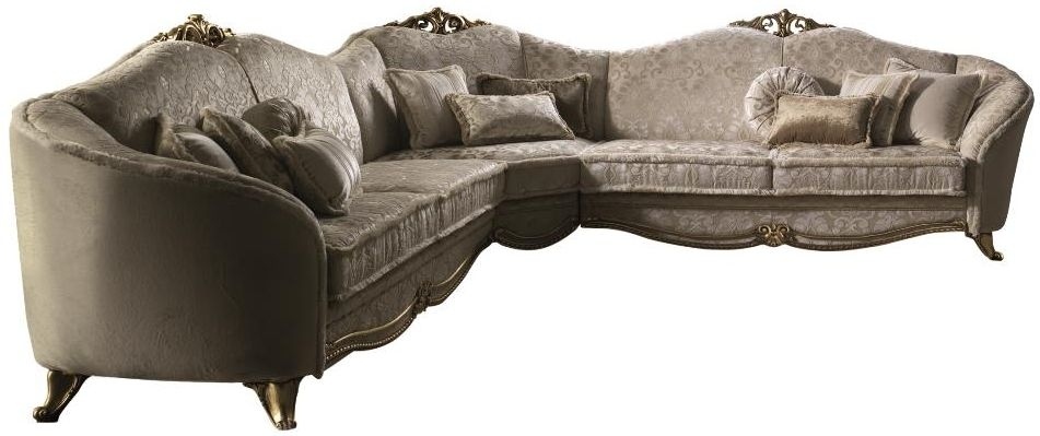 Arredoclassic Donatello Italian Fabric Corner Sofa