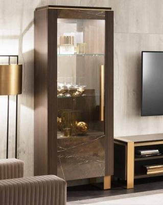 Arredoclassic Essenza Italian 1 Left Door Display Cabinet