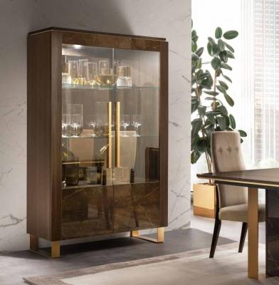 Arredoclassic Essenza Italian 2 Door Display Cabinet