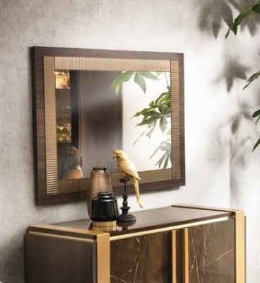 Arredoclassic Essenza Italian Art 30 Wooden Wall Mirror