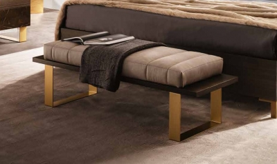 Arredoclassic Essenza Italian Fabric Bedroom Bench