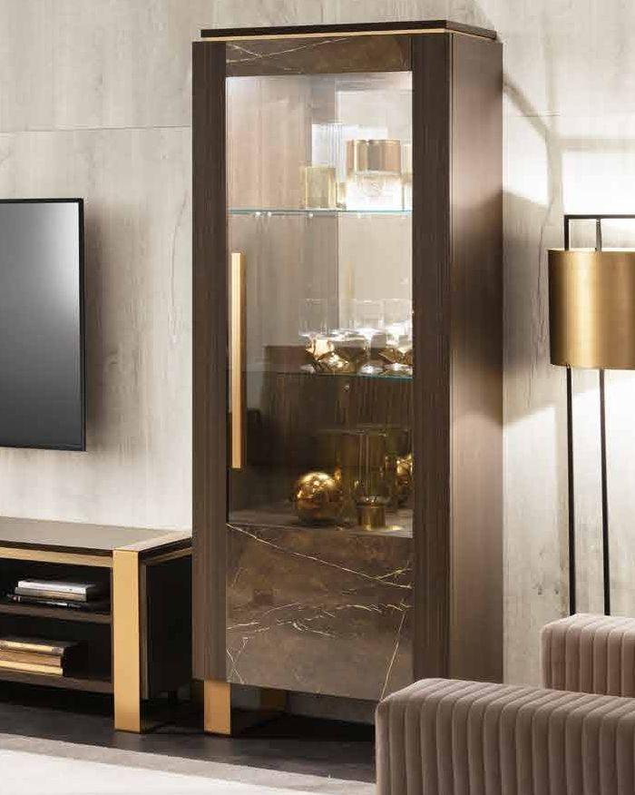 Arredoclassic Essenza Italian 1 Right Door Display Cabinet