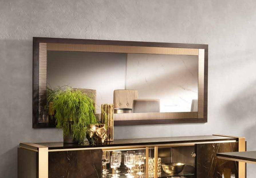 Arredoclassic Essenza Italian Art 30 Wooden Large Wall Mirror