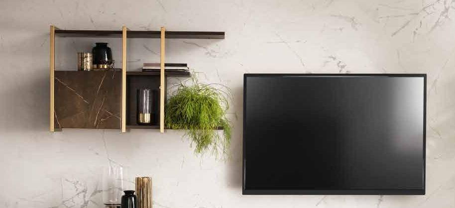 Arredoclassic Essenza Italian Wall Display Cabinet
