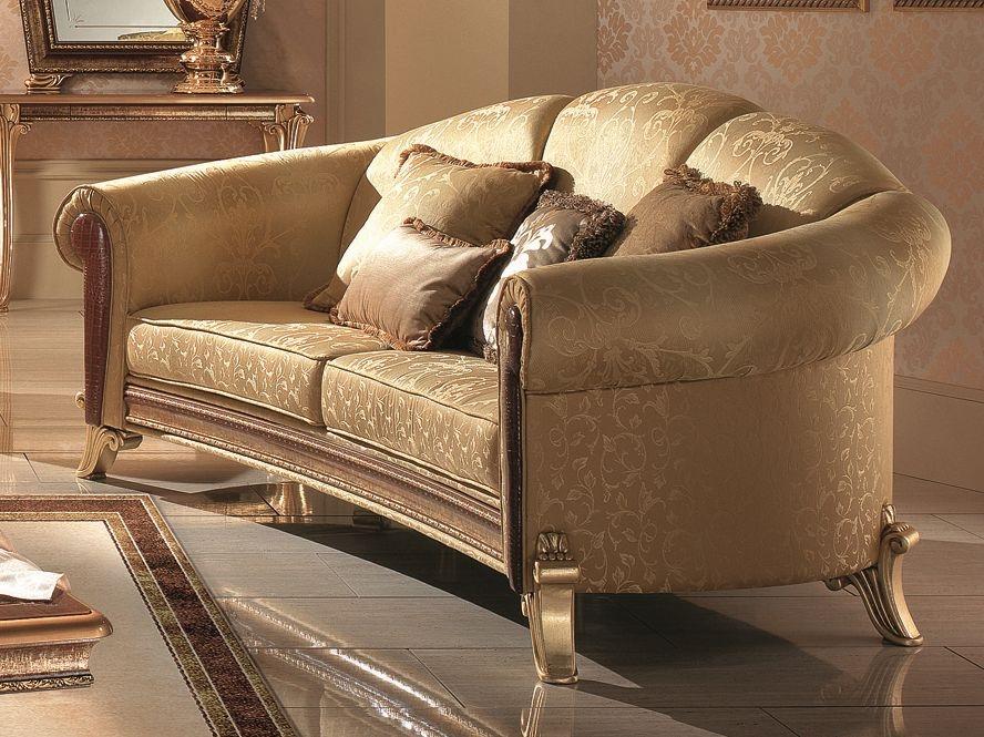 Arredoclassic Giotto Italian 3 Seater Fabric Sofa